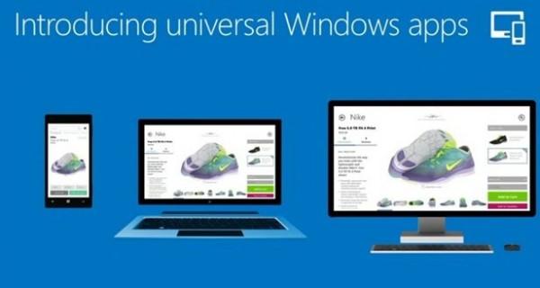 Microsoft universal Windows apps