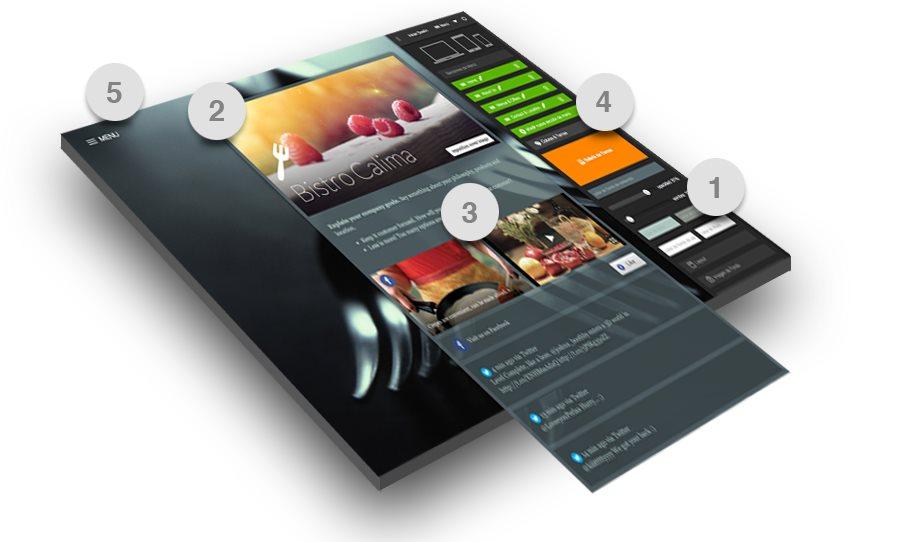 Nuevo .Pixelhub, para crear sitios web enfocados en Social Media, y con versión en español