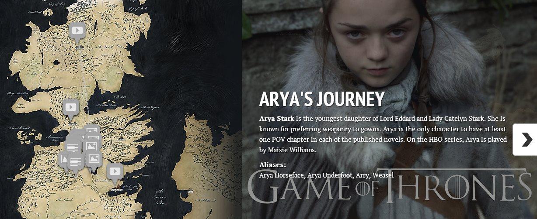 3 mapas de Game of Thrones que acompañan el estreno de la 4ª temporada