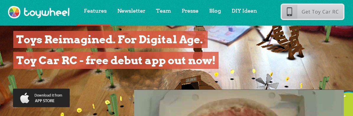 Toywheel, la reinvención de juegos para niños con Realidad Aumentada
