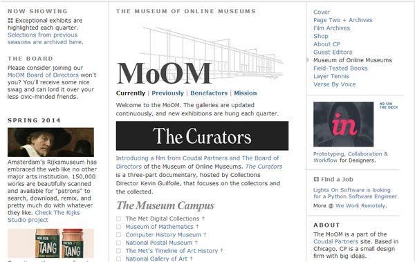 MoOM museo de museos online