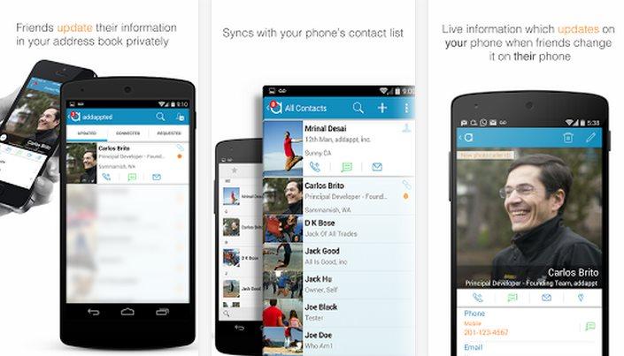 Addappt, la agenda inteligente de contactos, llega a android y renueva su versión iOS