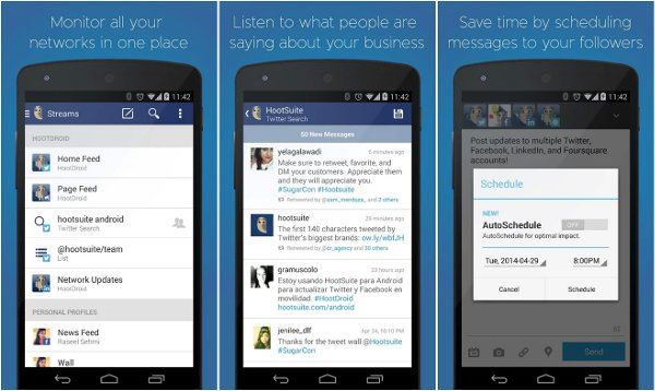 nuevo hootsuite android