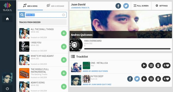 playlists compartidas deezer musica