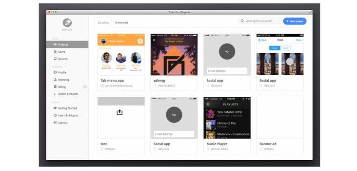 Proto io, para diseñar prototipos en móviles, estrena nueva versión
