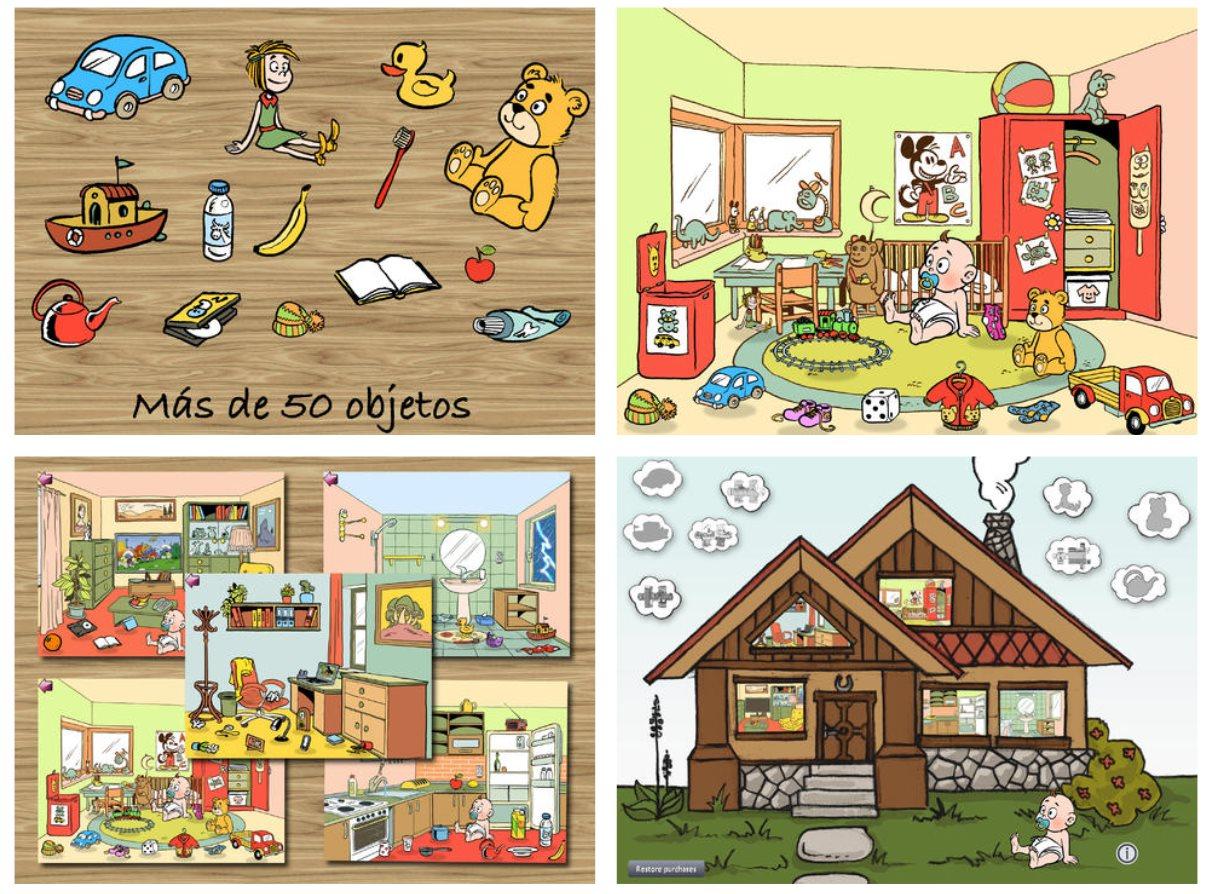 Un juego para iOS para que los niños aprendan vocabulario