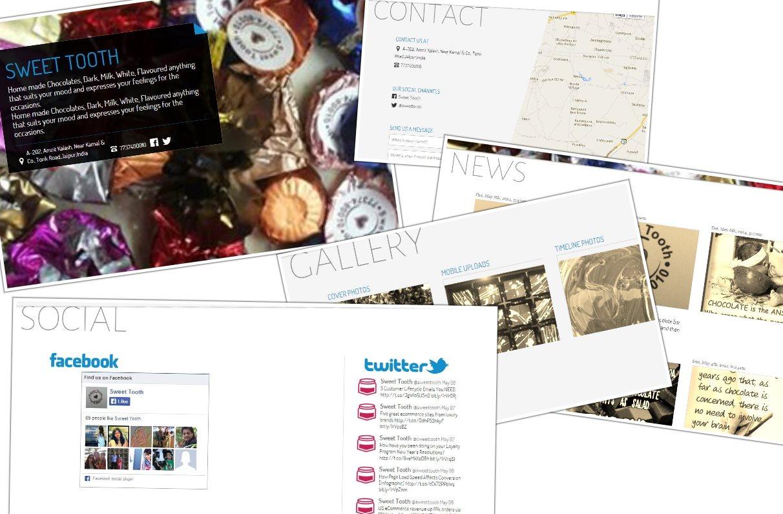 otonomic, para crear sitios web usando el contenido de páginas de Facebook