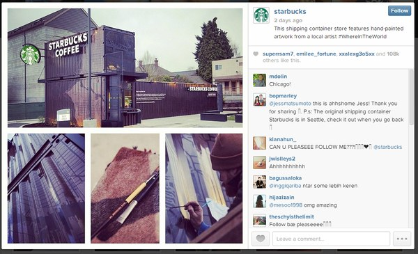 starbucks instagram 2