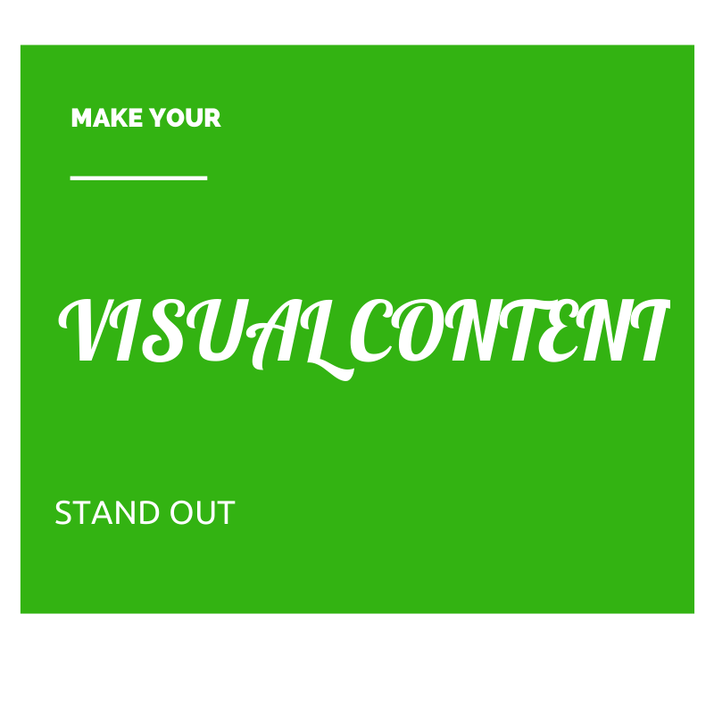 Cómo hacer que su contenido visual se destaque de los demás