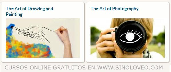 cursos de arte y fotografía