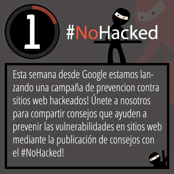 Google lanza la campaña #NoHacked en Google Plus