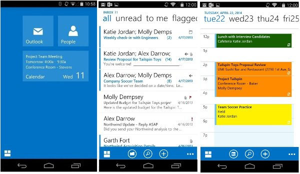 OWA Outlook for Android