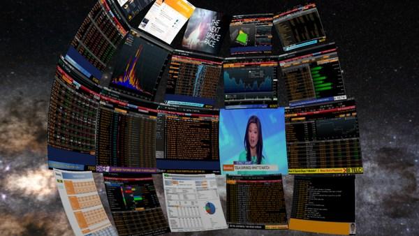 bloomberg oculus rift pantallas traders