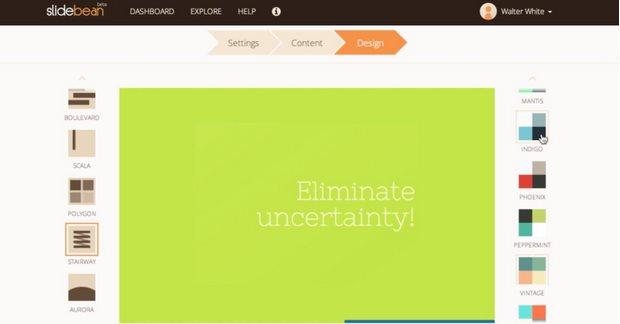 Slidebean, herramienta para hacer presentaciones, sale del beta y presenta novedades