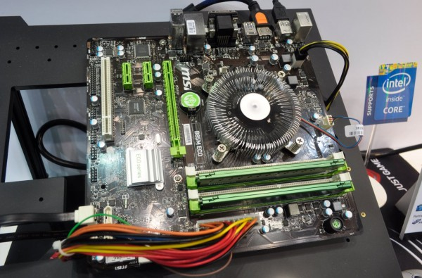 MSI Eco placa base