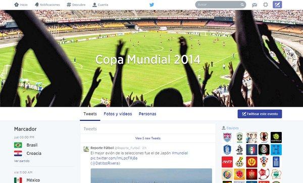 copa mundial 2014 twitter