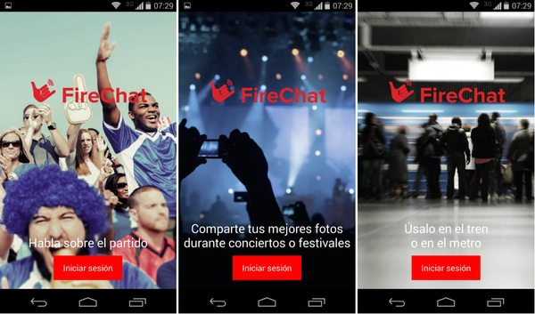 firechat android eventos