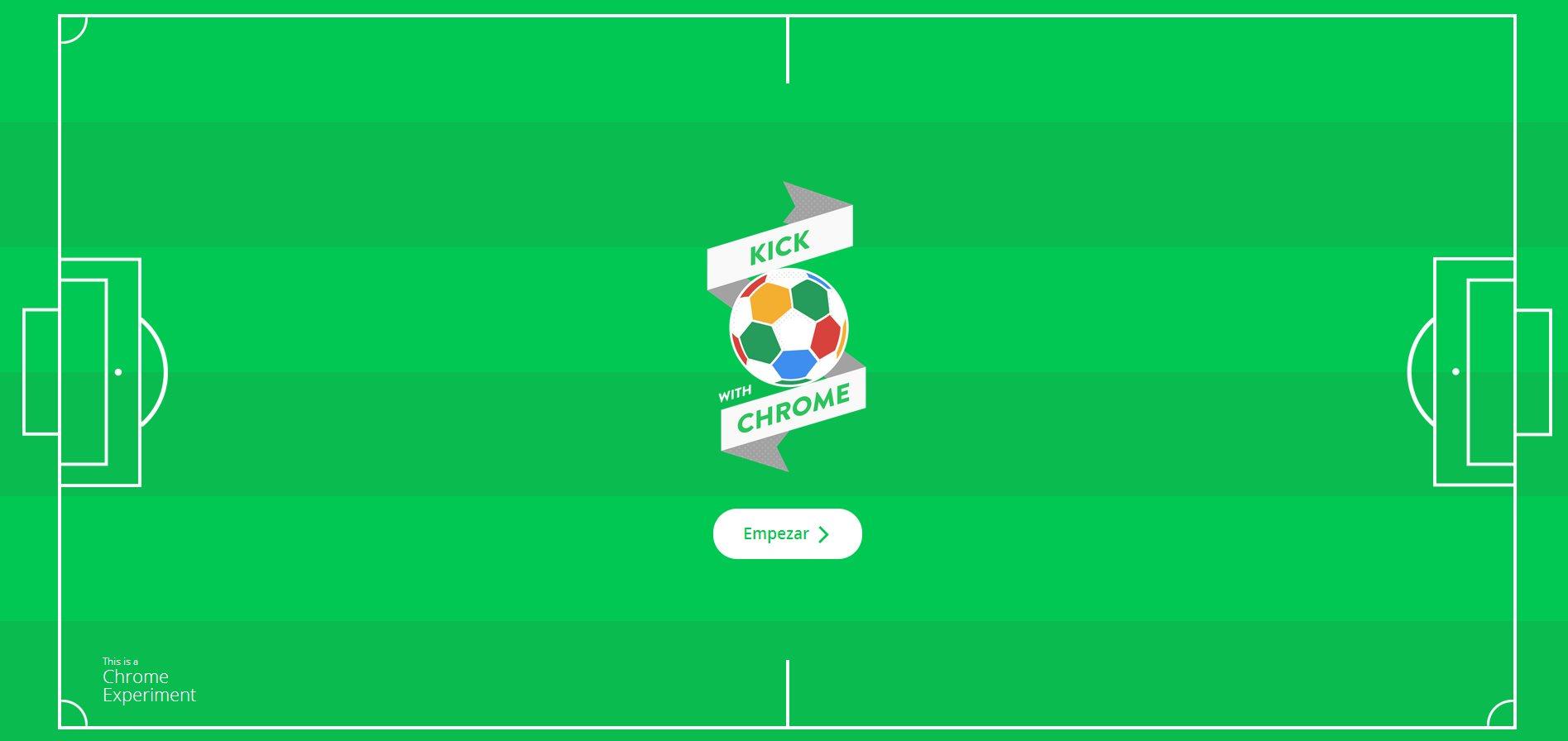 Un experimento de Google para fans del fútbol