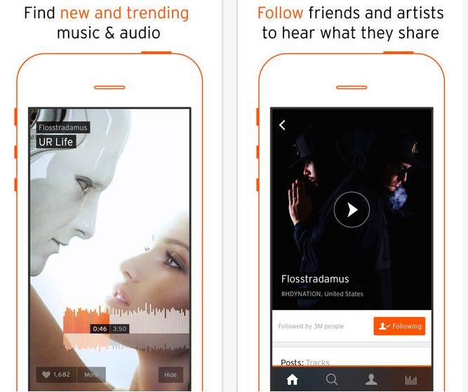 Soundcloud lanza nueva app para iPhone