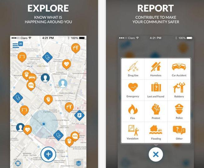 Una aplicación que puede ayudar a estar más seguro al visitar Brasil