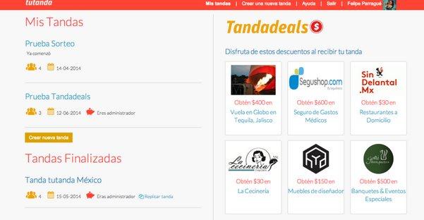 TandaDeals, un interesante modelo de negocio para una web que incentiva el ahorro