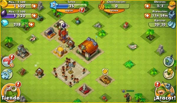 Jungleheat Un Juego Multiplataforma Con Heroes Clanes Batallas Y
