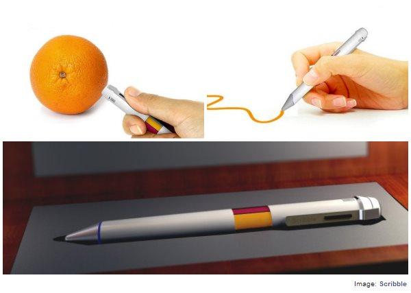 Scribble, un bolígrafo que te permite utilizar todos los colores del mundo