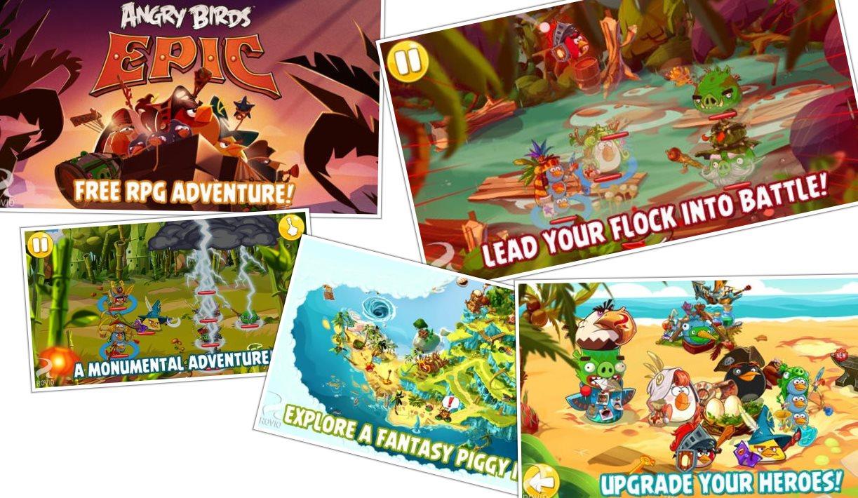 El juego de rol de Angry Birds ya disponible en todo el mundo