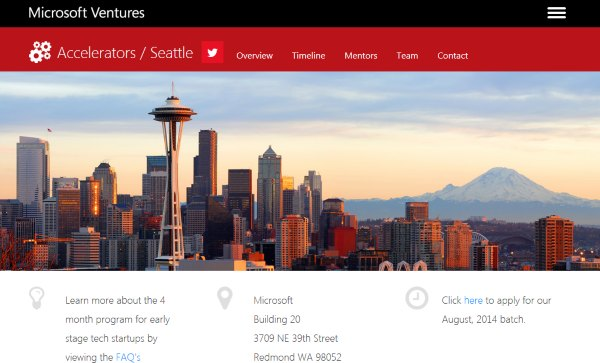 microsoft ventures capital seattle