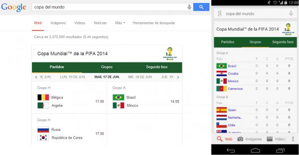 mundial 2014 google