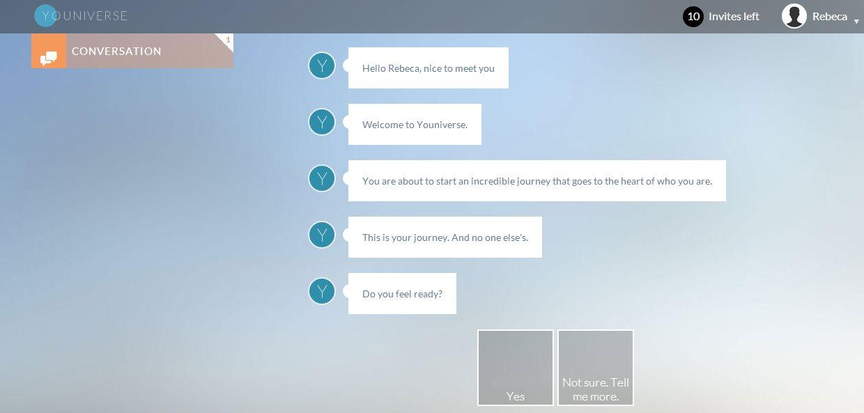 Youniverse, la web app que nos ayuda a descubrir quiénes somos