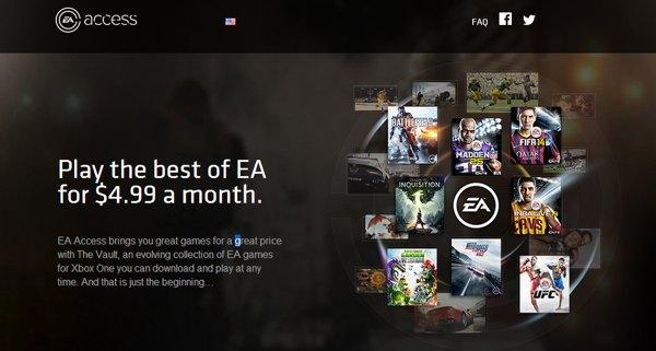 EA Access suscripcion juegos online