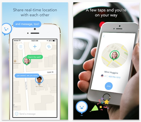 Jink, una aplicación con la que compartir tu localización sin sacrificar la batería