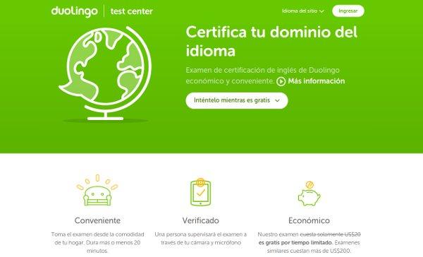 Duolingo lanza examen para certificarse en idioma inglés en solo 20 minutos