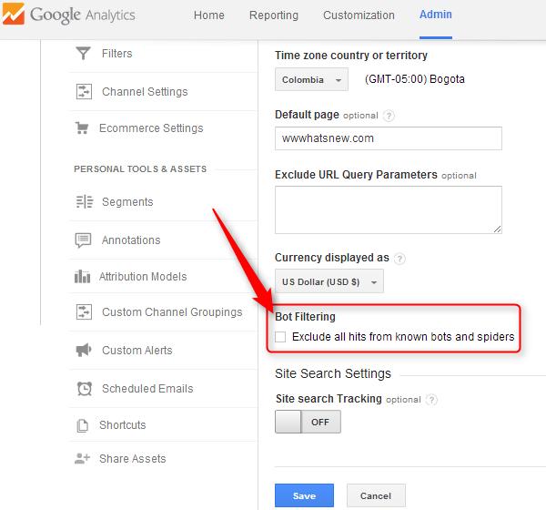Cómo excluir las visitas de bots y spiders en las mediciones de tu Google Analytics