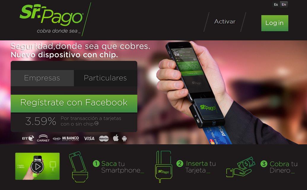 Sr.Pago, una solución en México para recibir pagos usando el móvil