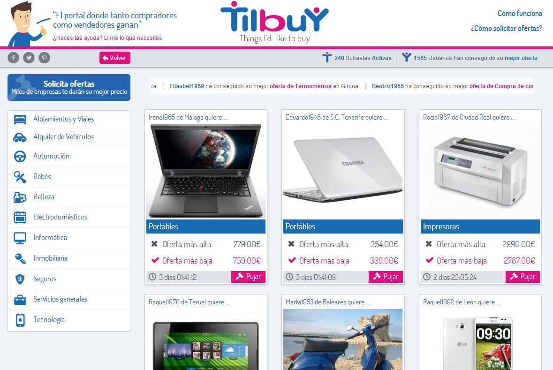 Tilbuy, una excelente idea para conseguir el mejor precio en Internet