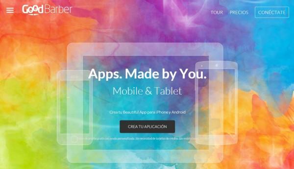 Nuevo GoodBarber, la plataforma para crear apps móviles sin programar