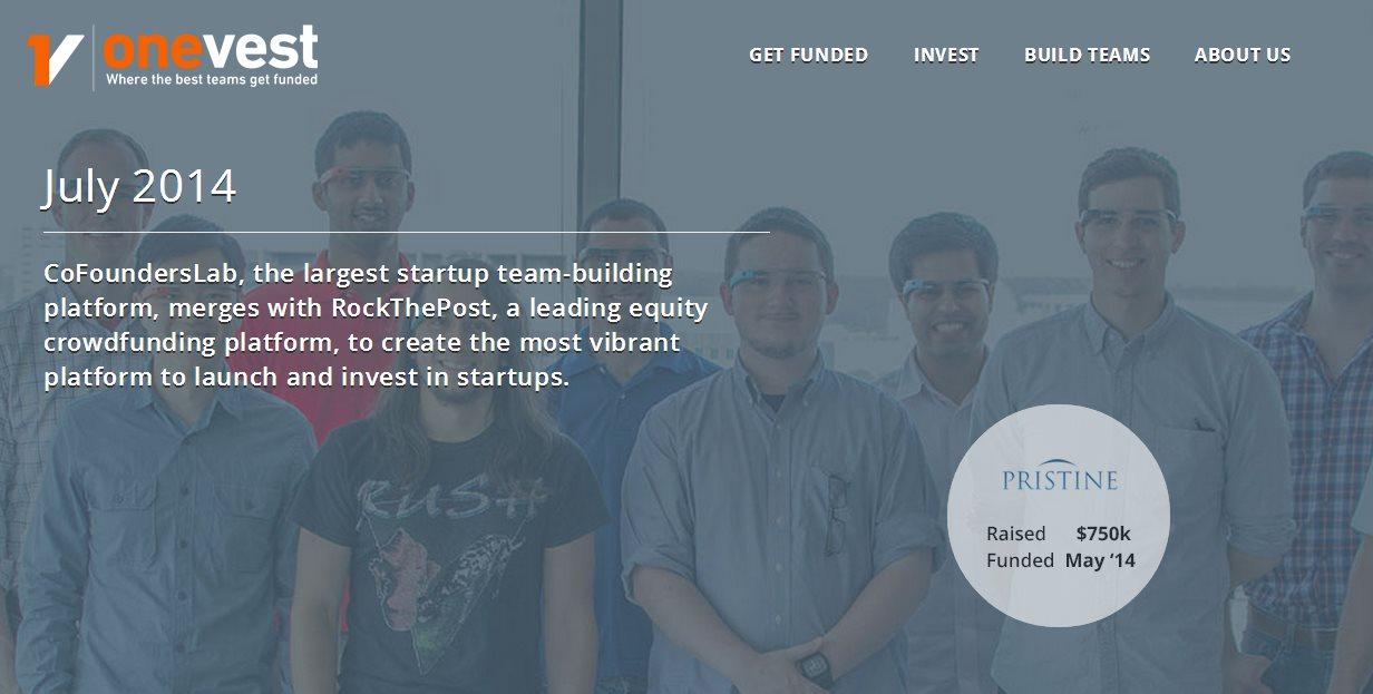 Nace Onevest, una de las plataformas de inversión en startups más grandes del mundo