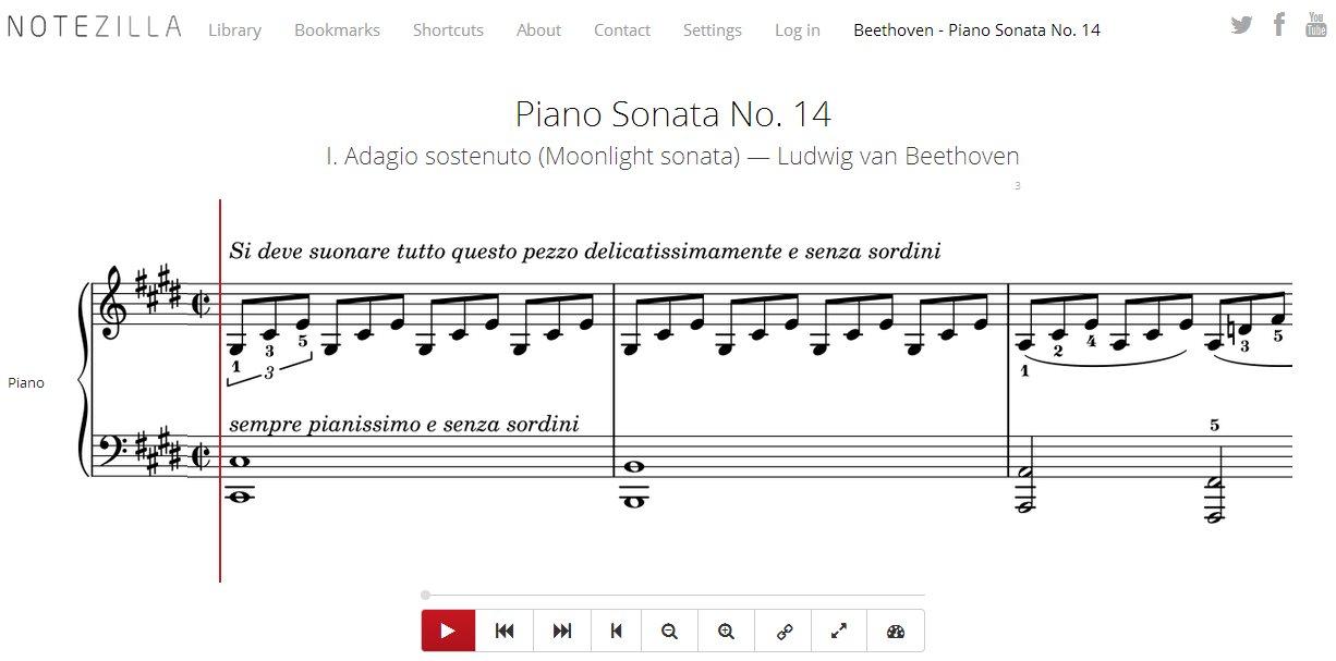 Notezilla, excelente opción para aprender y practicar música