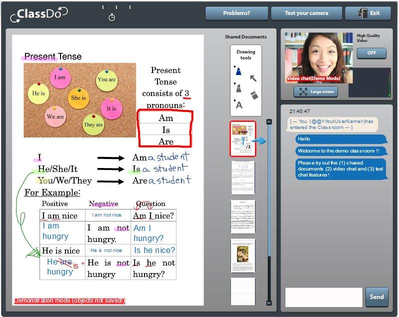 classdo, proyecto en el que podemos dar y recibir clases online