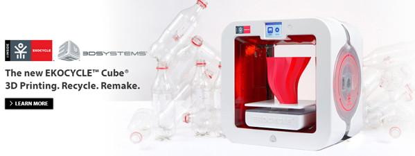 impresora 3d botellas plasticas recicladas