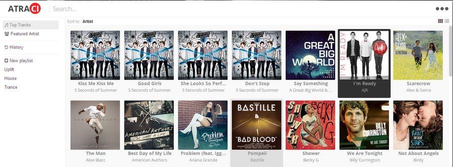 Atraci, 60 millones de canciones para reproducir gratis y sin publicidad
