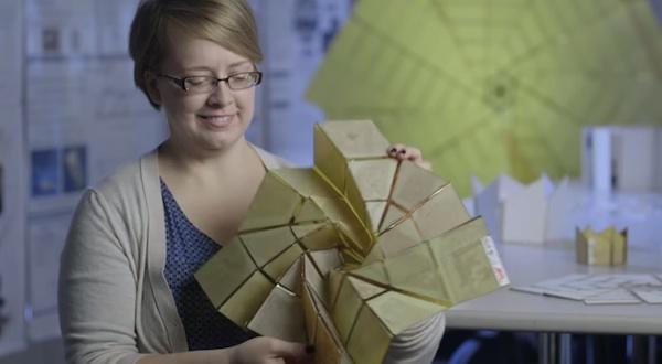 Investigadores desarrollan paneles solares plegables basándose en el arte del origami