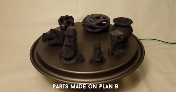 Fabrican una impresora 3D utilizando piezas de una impresora tradicional