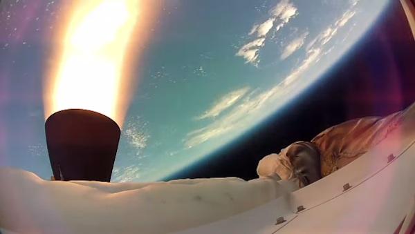 La NASA ha publicado el vídeo de las pruebas realizas con el LDSD, una especie de platillo volante