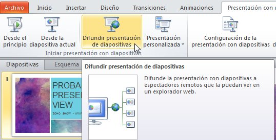 broadcast powerpoint