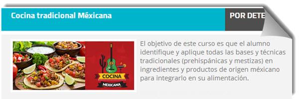 curso: cocina tradicional mexicana