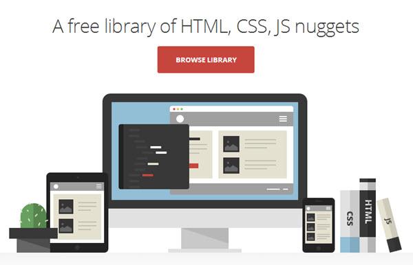Cody, una biblioteca gratuita de tutoriales de HTML y CSS