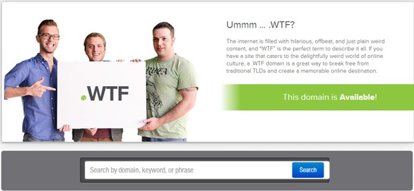 dominios wtf